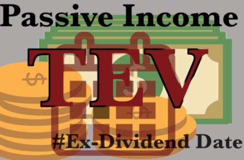 Ex-dividend dates week
