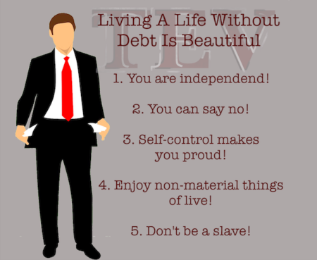 Living a life without debt