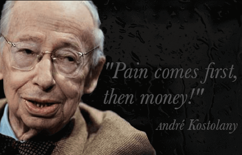 Pain comes first, then money TEV Blog