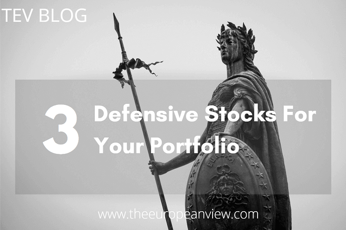 3 defensive stocks for your portfolio TEV BLOG
