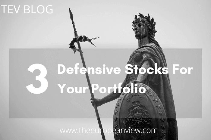 3 defensive stocks for your portfolio TEV BLOG