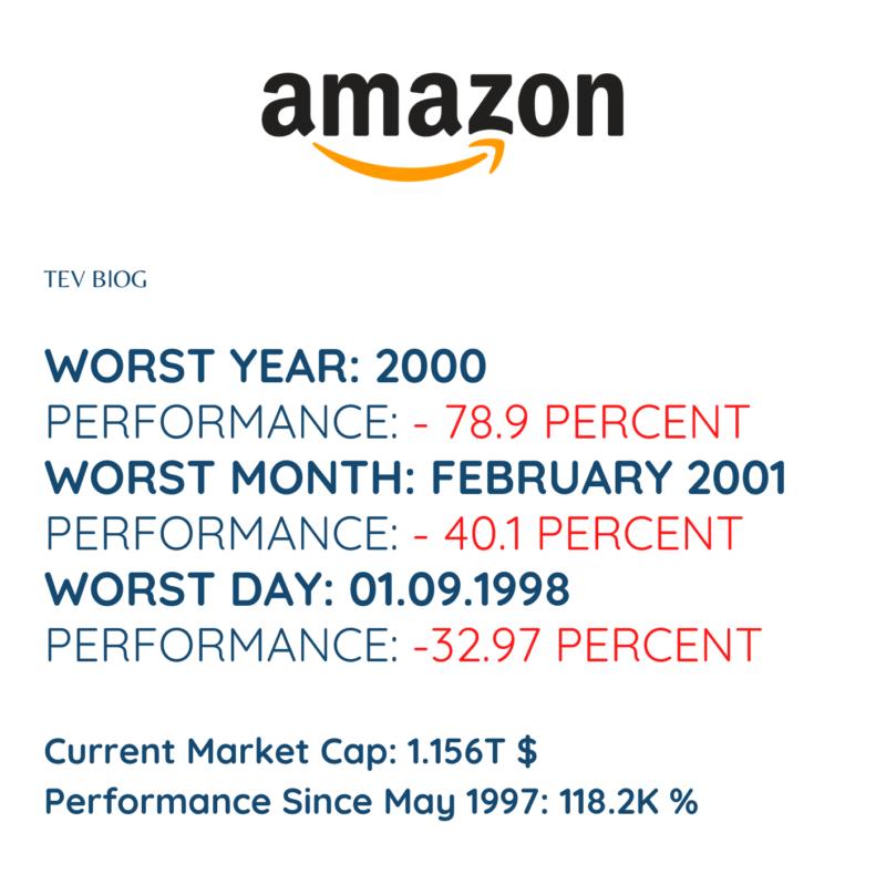 Performance Amazon Stock Crashed