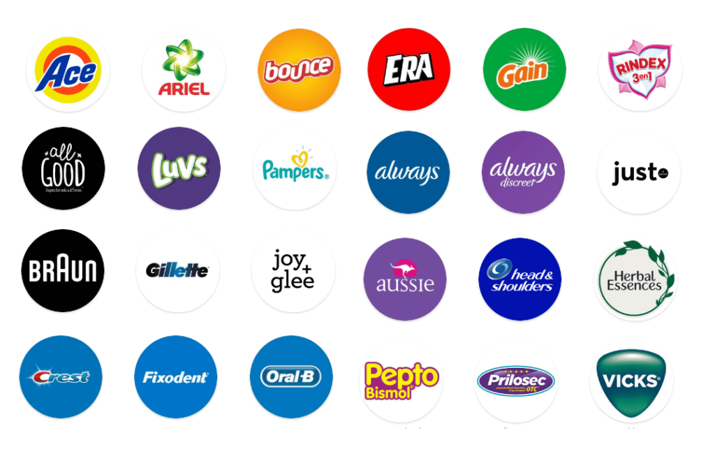 Procter & Gamble Brand Portfolio