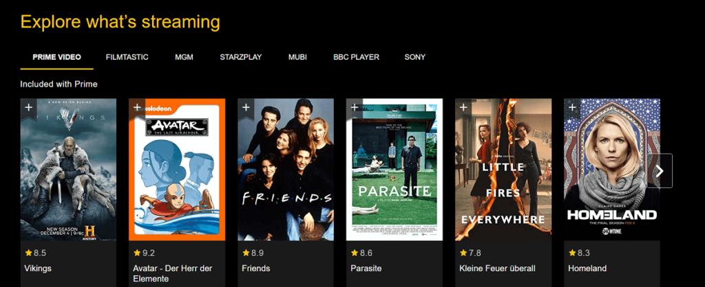 Amazon features Amazon Prime on IMDb