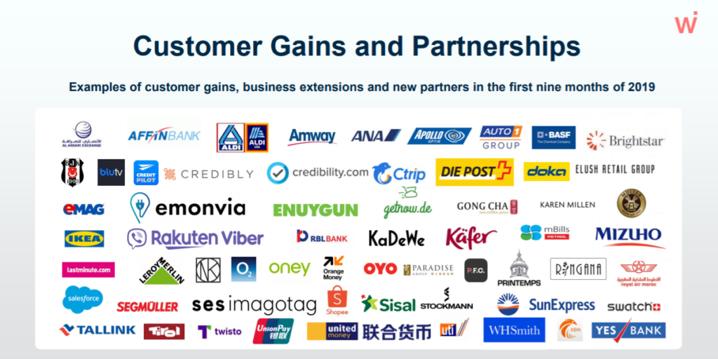 Source: Customer Gains and Partnerships