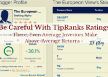 Be Careful With TipRanks – Even An Average Investor Like Me Can Achieve Above Average Return