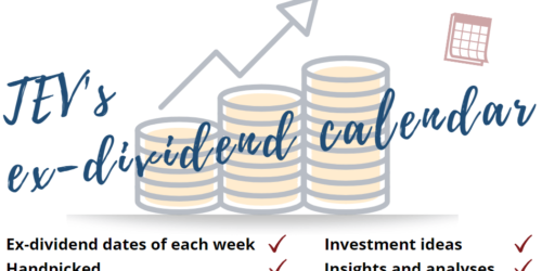 Ex-Dividend Calendar May 10 to May 14 With Visa And Starbucks