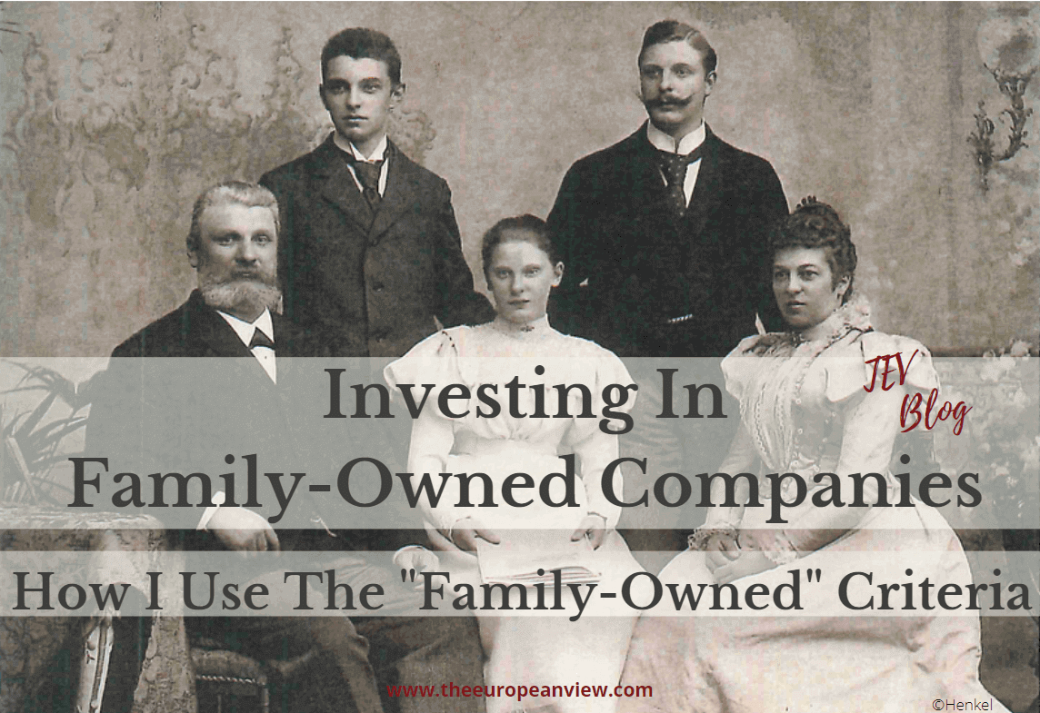 investing in family-owned companies