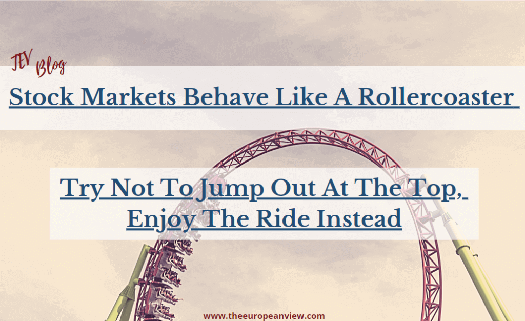 Stock markets behave like a rollercoaster