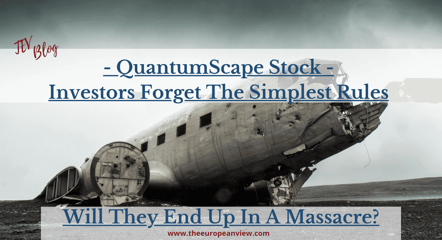 QuantomScape Stock analysis