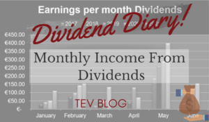 Earnings per month Dividends