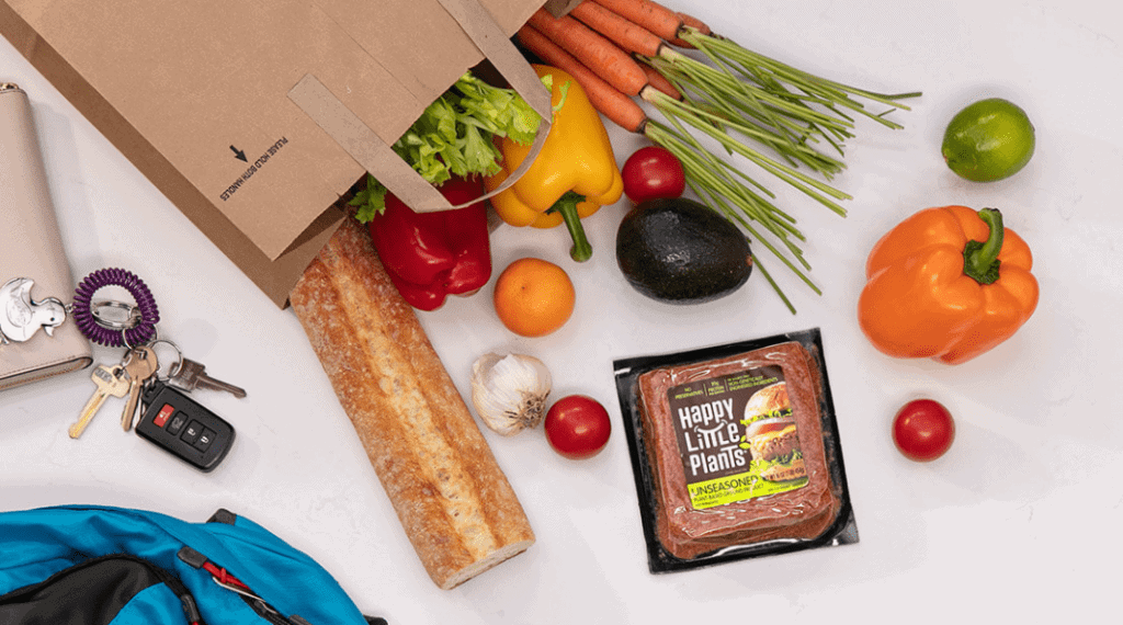 """Hormel Foods responds to changing consumer needs with meat-free products, source: Hormel Foods """"Happy Little Plants"""""""