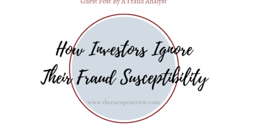 """How Investors Ignore Their Fraud Susceptibility 