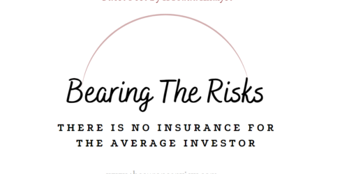 """There Is No Insurance For The Average Investor 