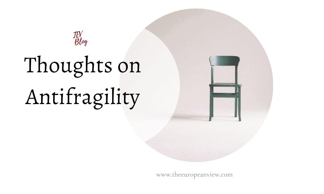 Thoughts on Antifragility TEV Blog