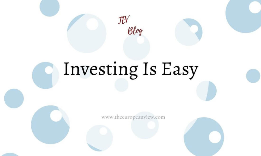 investing is easy TEV Blog