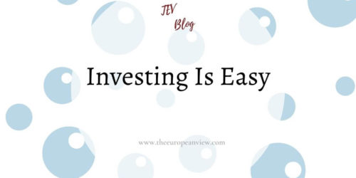 Investing Is Easy – And Yet I Spend Too Much Time On It