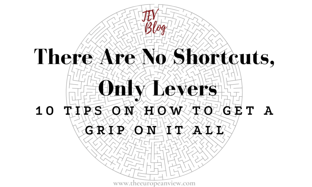 Shortcuts in life TEV Blog