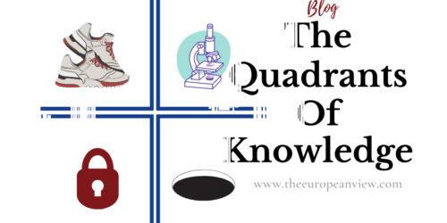 Quadrants Of Knowledge – Staying Away From The Unknown Unknwons