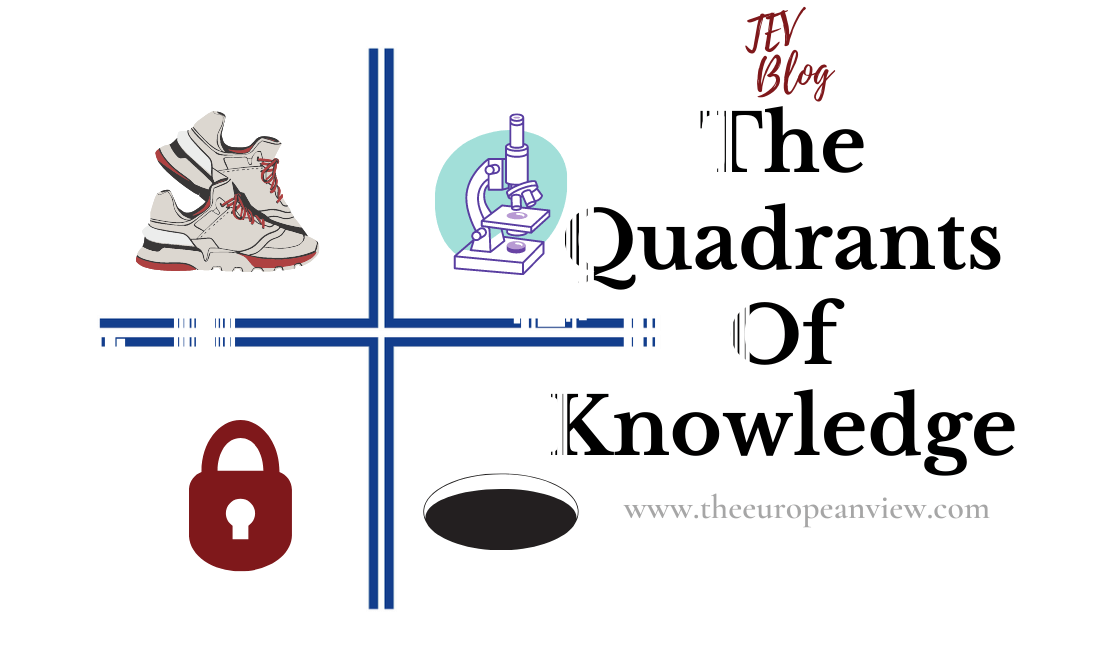 The Quadrants of Knowledge TEV Blog